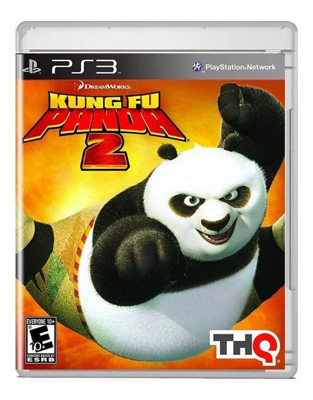 Kung Fu Panda 2 Ps3 Midia Fisica Original