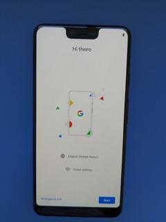 Google Pixel 3 Xl 128gb Negro Impecable Liberado + Funda