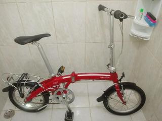 Bicicleta Dobràvel Original Dahon Curve D3 Novíssima
