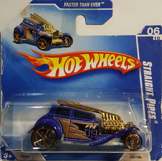 Hot Wheels 1/64 2009: Straight Pipes Faster 132/166 Novo (a)