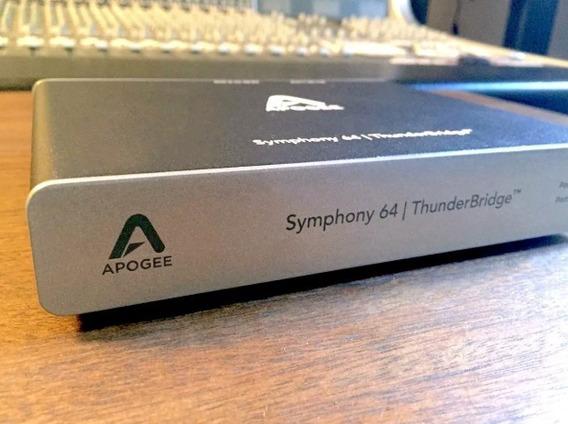 Apogee Symphony Thunderbridge 64ch Avid Protools Neve Ssl
