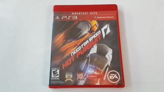 Need For Speed Hot Pursuit - Ps3 - Original - Mídia Física