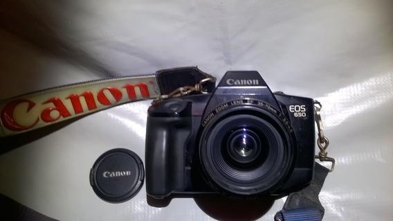 Camera Fotografica Canon Eos 650 35mm + Flash Tron S 300