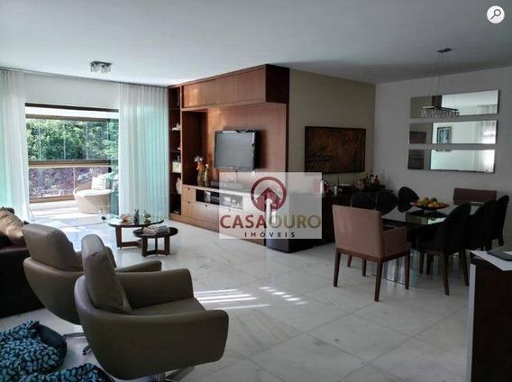 Apartamento Alto Luxo 4 Quartos À Venda, 192 M² Por R$ 1.980.000 - Sion - Belo Horizonte/mg - Ap0885