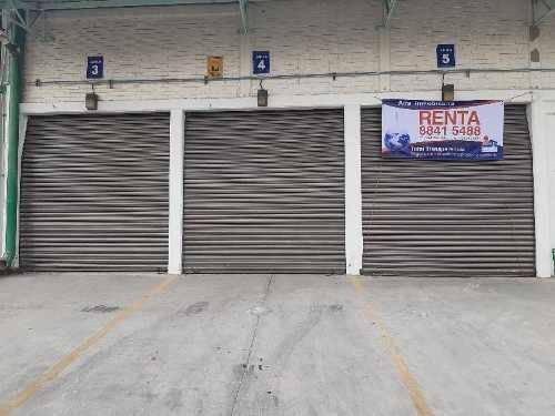 Renta De Bodega Industrial En Condominio En San Nicolás Tolentino
