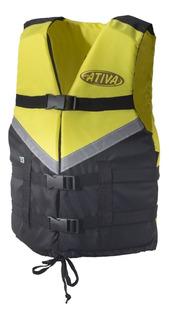 Colete Salva-vidas Auxiliar De Flutuação Canoa Para 130 Kg
