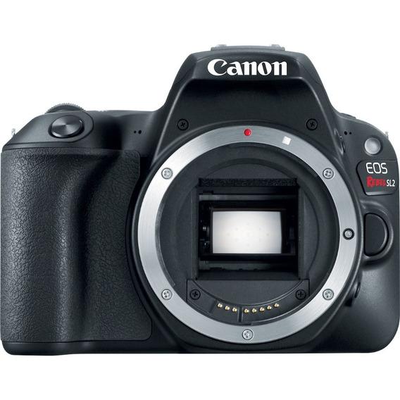 Câmera Canon Dslr Eos Rebel Sl2 - Corpo - Loja Platinum