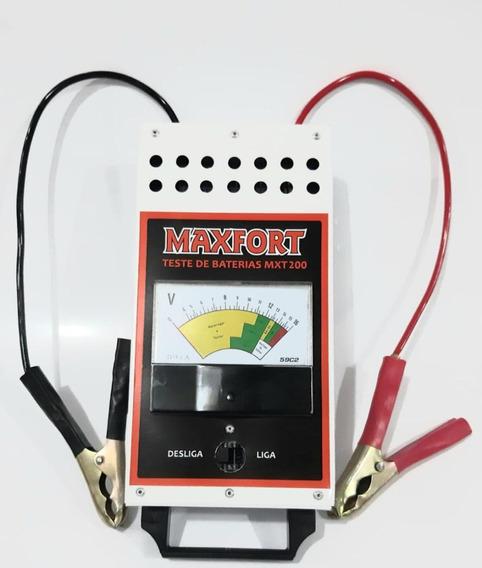 Teste De Baterias Analógico 16 Vt Cca 700a Maxfort-mxt200