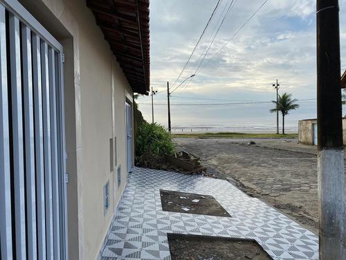 Imagem 1 de 12 de Cód Ma1111 Casa Nova Pé Na Areia Com Piscina Em Mongaguá