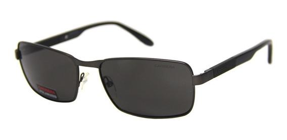 Óculos De Sol Carrera 8017 Metal + Brinde Limpa Lentes