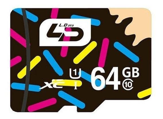 Cartao De Memoria 64gb Micro Sdxc Ld Classe 10 80m/s 543