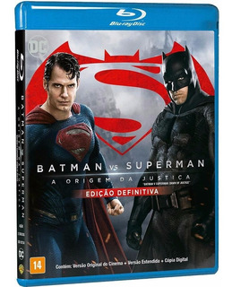 Blu Ray Filme Batman Vs Superman Ed Definitiva 3d Lacrado