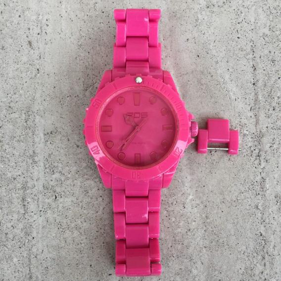 Relógio Pink Rosa Eos New York Marksmen Importado Original