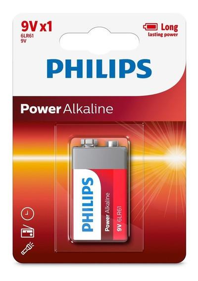 Bateria Alcalina Philips Power Alkaline 9v