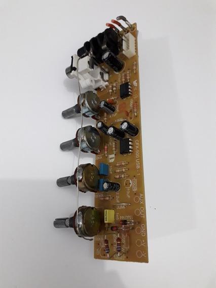 Placa Pré Amplificador Sound,cfx350 Usb, Usada