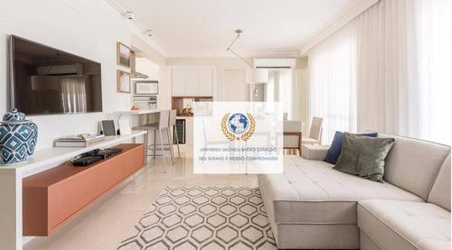 Apartamento Com 3 Dormitórios À Venda, 100 M² Por R$ 880.000,00 - Mansões Santo Antônio - Campinas/sp - Ap0830