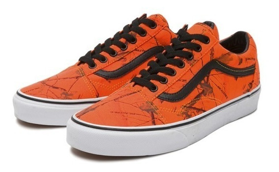 vans naranjas
