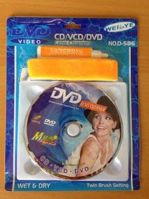 Kit Limpador De Reproductor De Dvd/cd/bluray Kingpc(tienda)