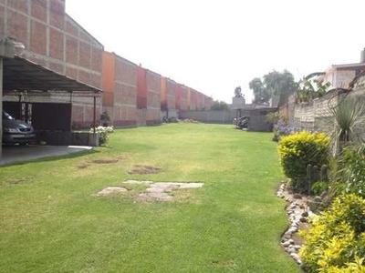 Terreno En Renta, Xochimilco, Ciudad De México
