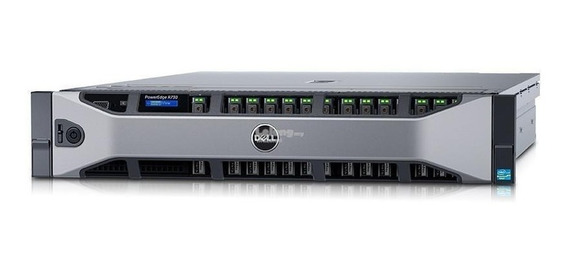 Servidor Dell Poweredge R730 Six Core 256 Gb Garantia 1 Ano