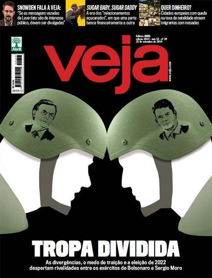 Revista Veja, Ed. 2653, A 52, N. 39, 25 De Setembro De 2018.