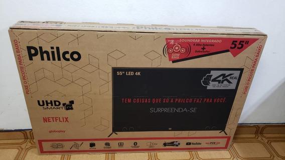 Smart Tv 4k Led 55 Philco Ptv55g60sn - Wi-fi Conversor