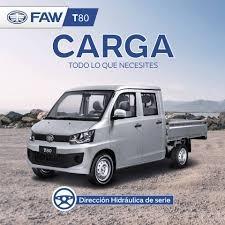 Camioneta Pick Upfaw T80 Doble Cabina Fab.2019 1500cc.toyota