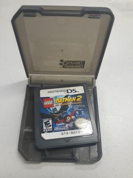 Lego Batman 2 Dc Super Heróis Ds Original Nintendo Ds