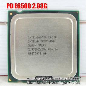 Processador Intel Pentium Dual Core E6500 2.93ghz 2mb 775
