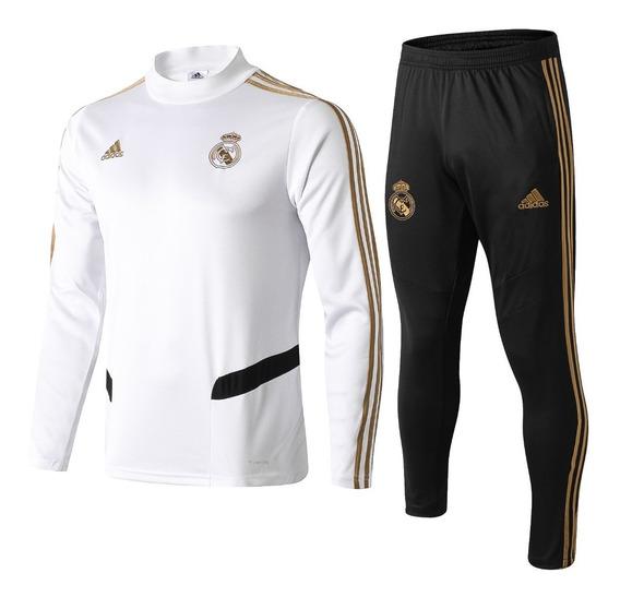 Conjunto De Frio Real Madrid - Oficial Promoção