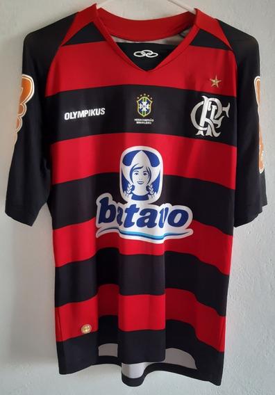 Camisa Do Flamengo Olympikus Oficial Modelo 2010