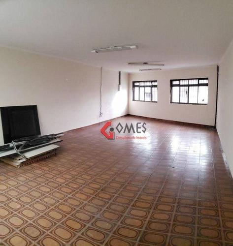Imagem 1 de 19 de Prédio Para Alugar, 300 M² Por R$ 4.000,00/mês - Centro - São Bernardo Do Campo/sp - Pr0103