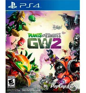 Plants Vs Zombies 2 Ps4 Juego Físico Playstation 4 + Regalo