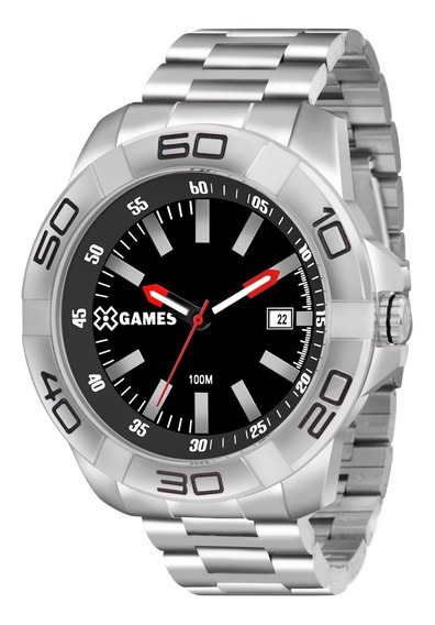 Relógio X-games Masculino Xmss1037 Pbsx Aço Analogico Oferta