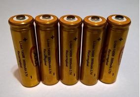 Kit 10 Baterias Recarregavel 14500 3,7v 8800mah Imperdível.!