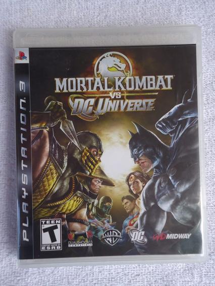 Mortal Kombat Vs Dc Universe Ps3 ** Frete Gratis Leia