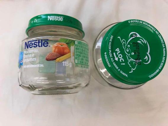 Frasco De Papinha Nestle (vazio)