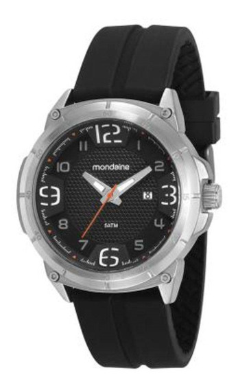 Relógio Masculino Mondaine 53666g0mvni2 Prata/preto