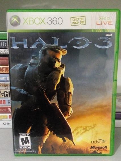 Halo 3 + Brinde P/ Xbox 360 Original Frete Cr $14 Veja