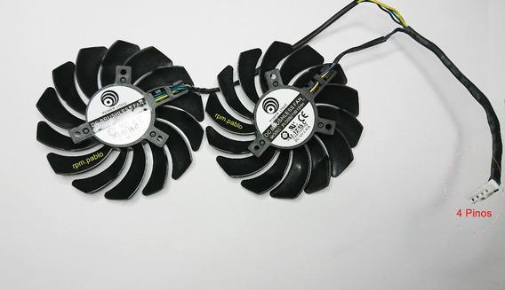 Dual Fan Placa De Video Msi Gtx 570/580 Armor
