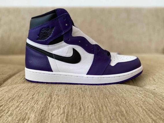 Nike Air Jordan 1 High Court Purple 44
