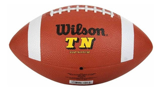 Bola De Futebol Americano Wilson Tn Indestructo Oficial
