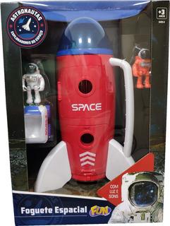 Foguete Espacial Astronautas 84509 Fun Divirta-se