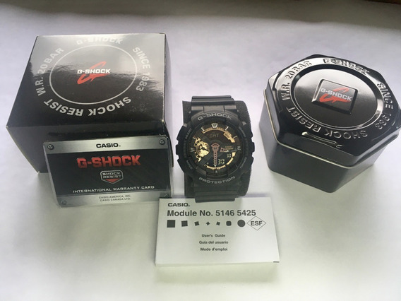 Relógio G-shock Ga-110rg-1a Gold Series - Cor Rose Gold