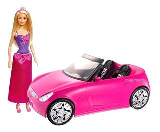 Barbie Mattel + Barbie Auto Fashion Original Scarlet Kids