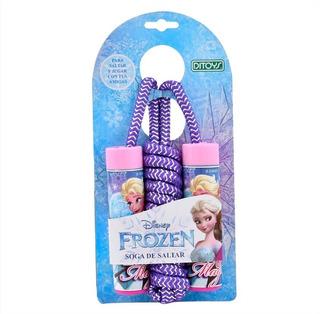Soga De Saltar Frozen Disney Niñas Ejercicio Original Ditoys
