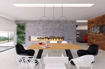 Preventa Casa Moderna En Bosque Real Para Estrenar