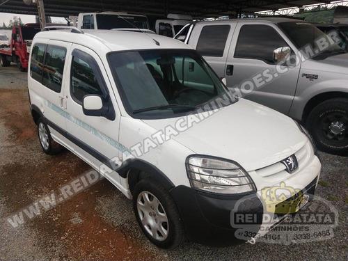 Peugeot Partner Escapade 1.6 Flex Passageiro Completa