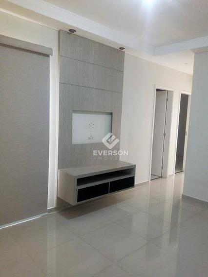Apartamento Com 2 Dormitórios Para Alugar, 49 M² Por R$ 790/mês - Recanto Paraíso - Rio Claro/sp - Ap0615