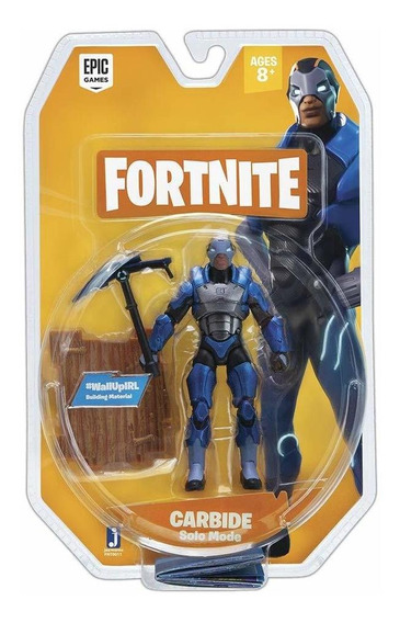 Fortnite - Carbide - Solo Mode - Figura Articulada